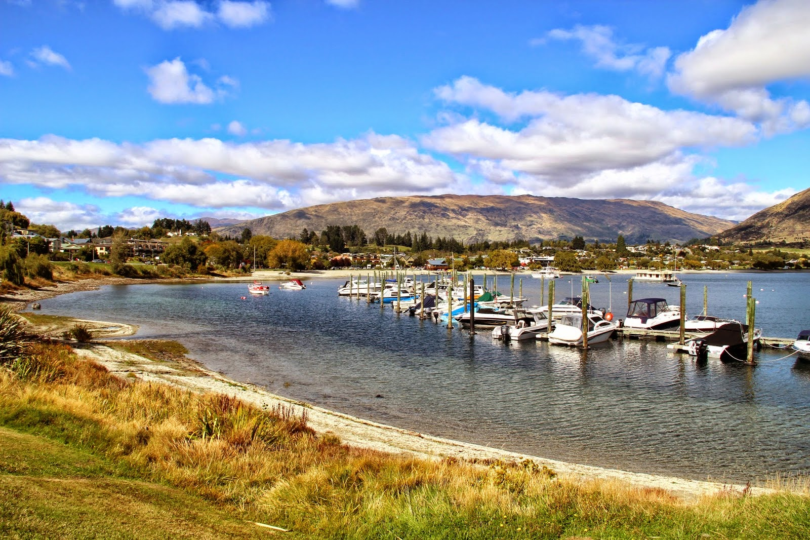 Lake Wanaka New Zealand Summer