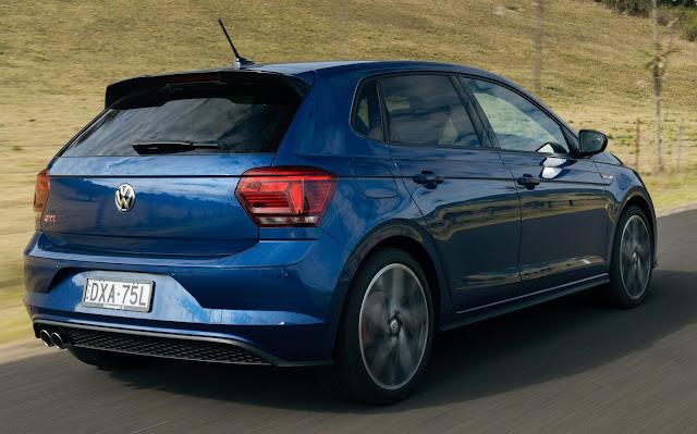 VW Polo 2018-2019 tem recall na Austrália - freio de mão