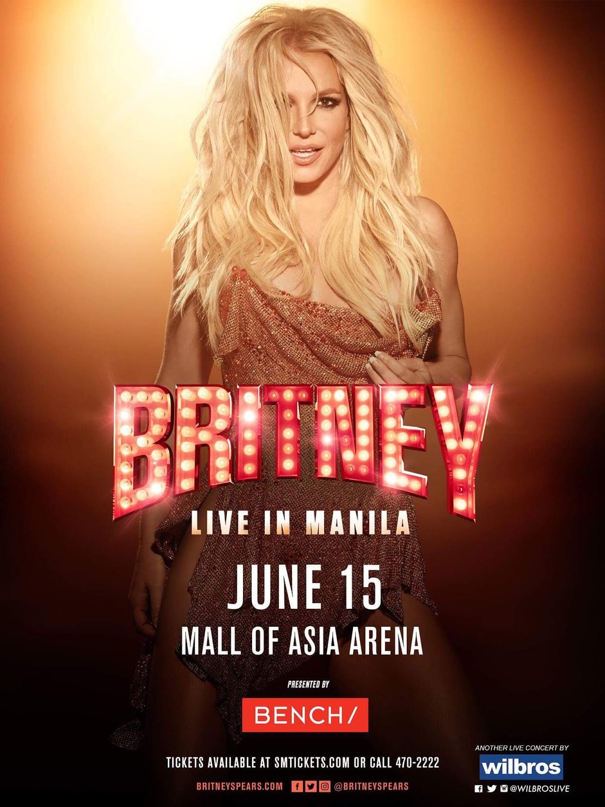Britney Spears Live in Manila concert