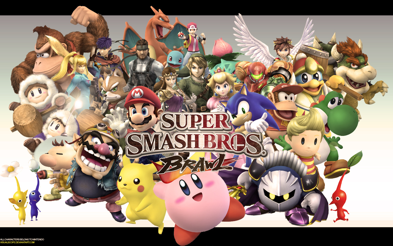 Beauty Hd Super Smash Bros Hd Wallpapers