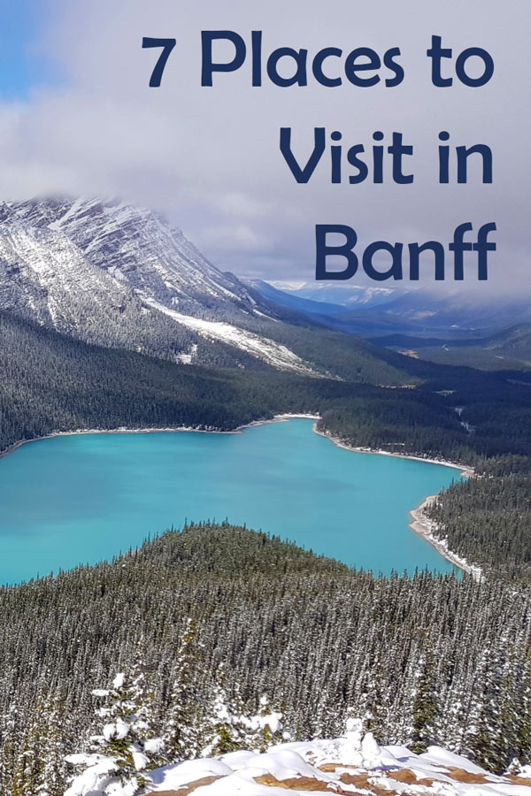 7 Places to Visit in Banff