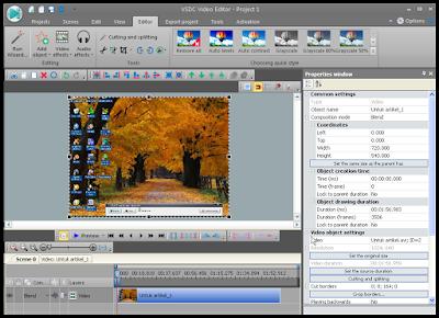 Cara Crop Video Dengan Menggunakan VSDC 5