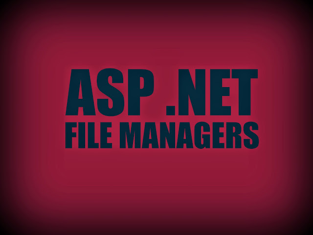 Best ASP .NET File Managers