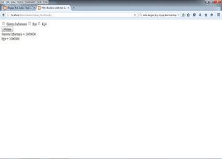 membatasi pilihan pada checkbox dengan php