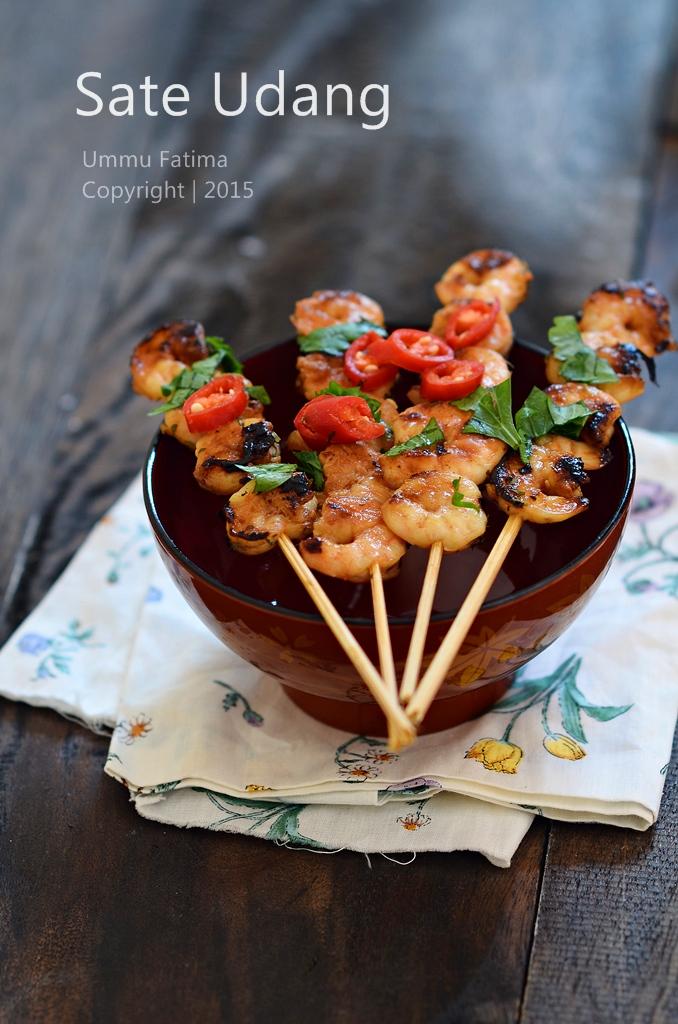 Simply Cooking and Baking...: Sate Udang Bumbu Kecap