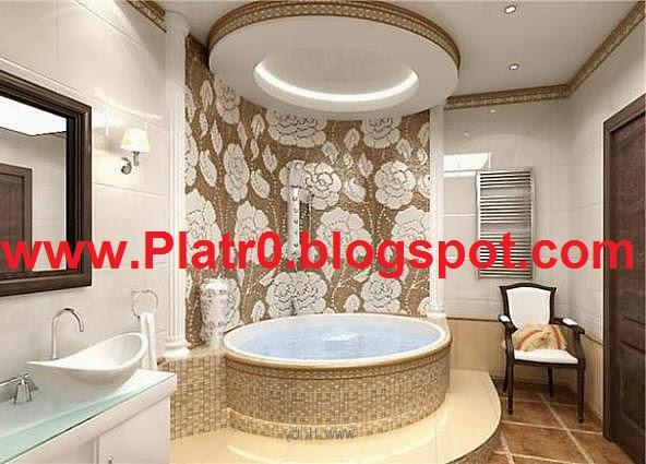 Platre Salle De Bain - Décoration Platre Maroc - Faux ...