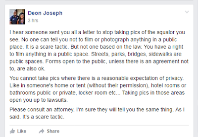 Officer Deon Joseph calls cease and desist letter scare tactic in Saving San Pedro Facebook group
