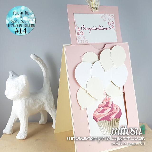 Stampin Up Mitosu Crafts Sweet Cupcake Order Stampinup UK Online Shop 3