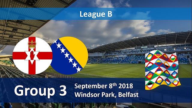 Prediksi UEFA Nations League Bosnia & Herzegovina vs Northern Ireland 16 Oktober 2018 Pukul 01.45 WIB