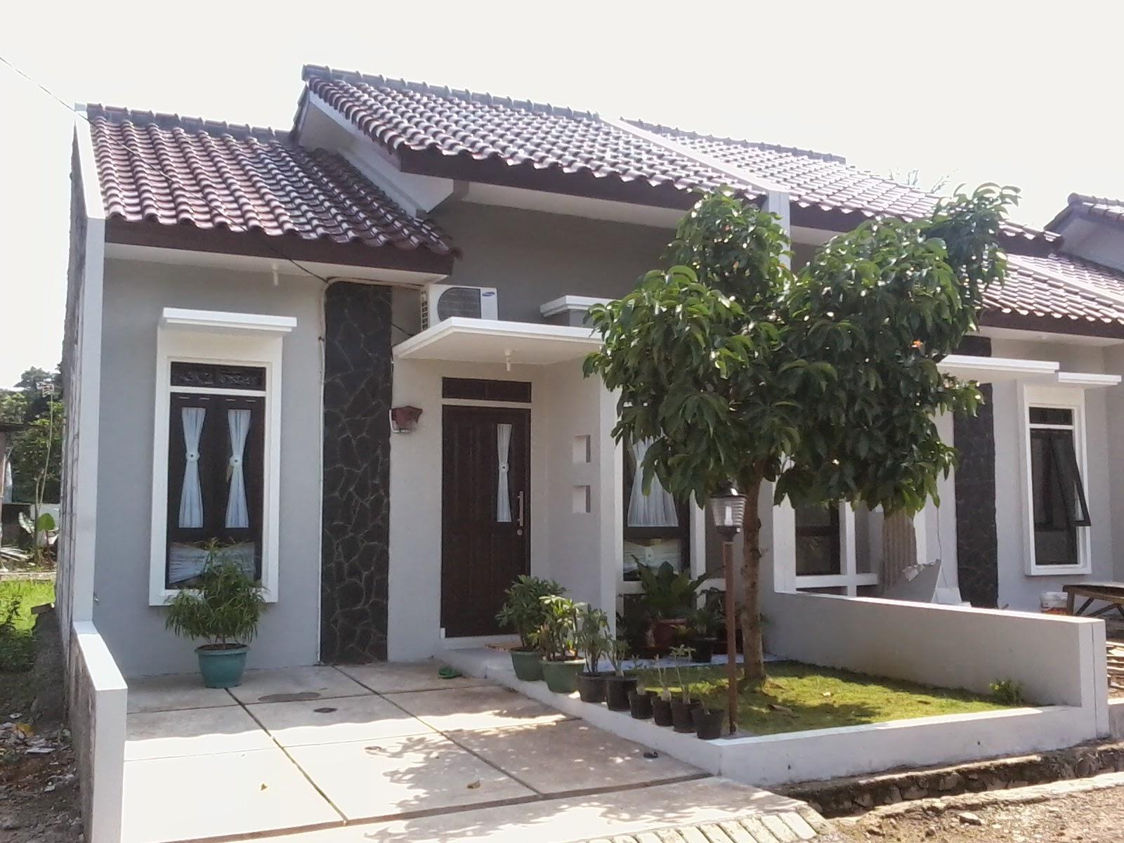 Rumah Minimalis Warna Abu Abu