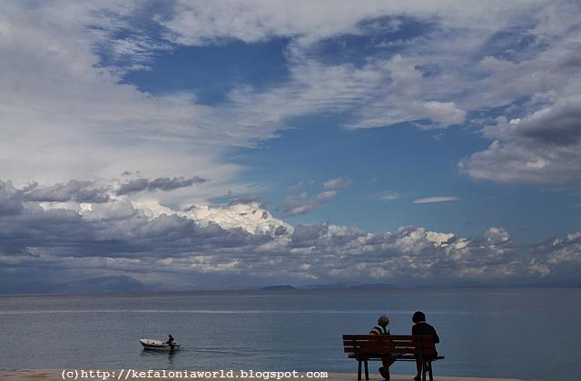 Crisp clouds, Kefalonia