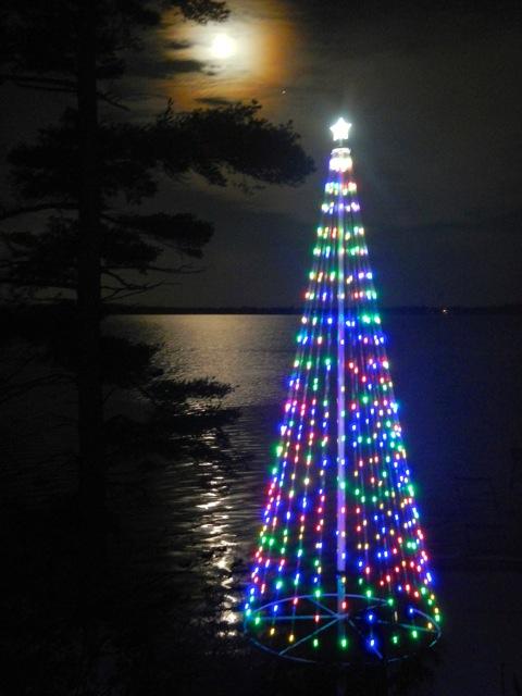 Flagpole Christmas Light Kit Christmas Decorating