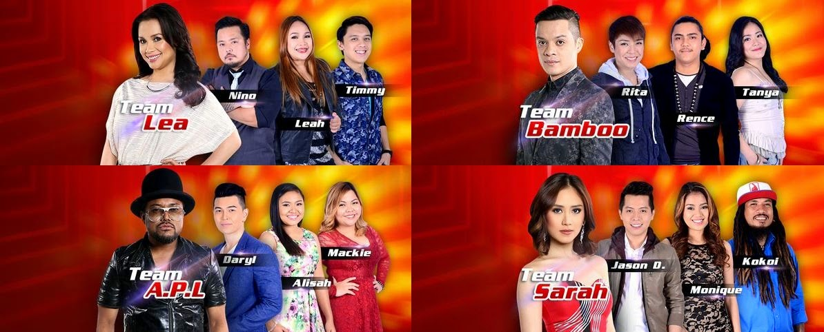 'The Voice of the Philippines' names Top 8 artists for Semi-Finals