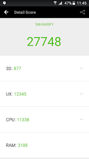 review samsung galaxy on7 indonesia - Samsung Galaxy On7 - Skor Antutu Benchmark