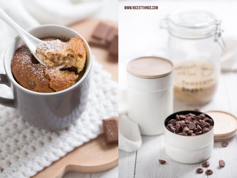 Chai Tassenkuchen Rezept Schoko Mug Cakes