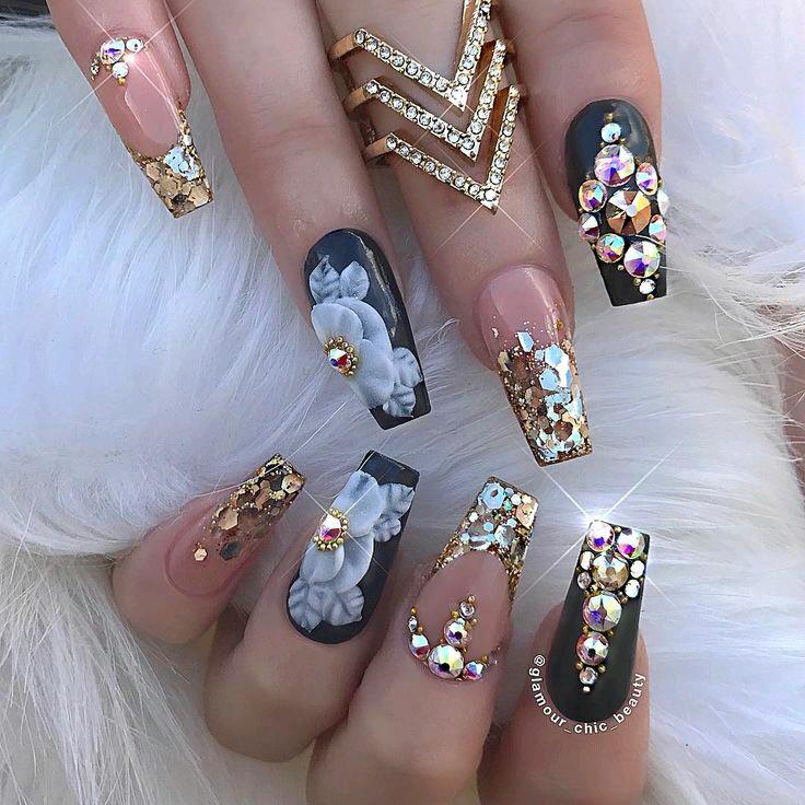 Blinged Nails Phoenix Ng Magazin
