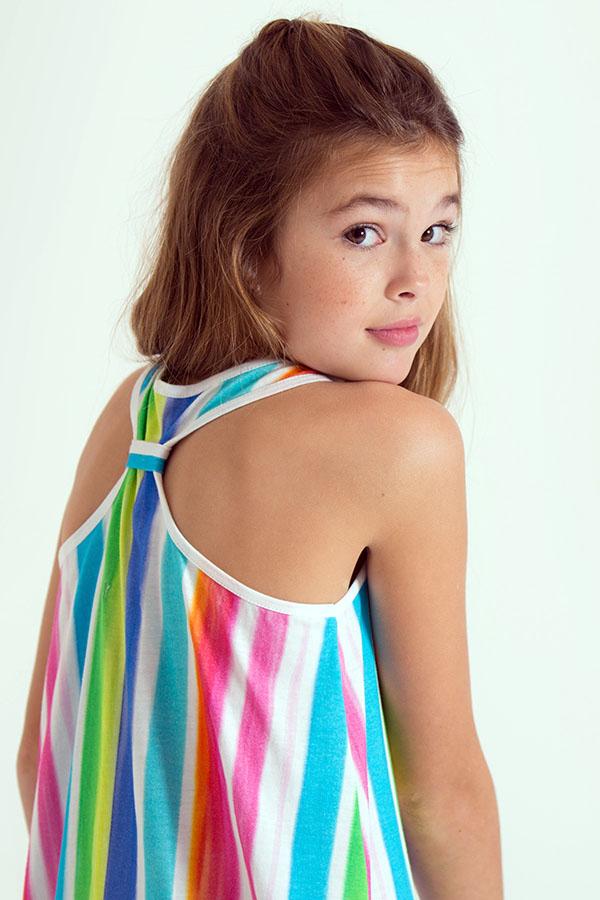 Moda primavera verano 2018 ropa para niñas. Moda para niñas 2018.