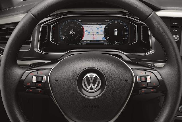 Novo VW Polo 2018 - Painel Digital