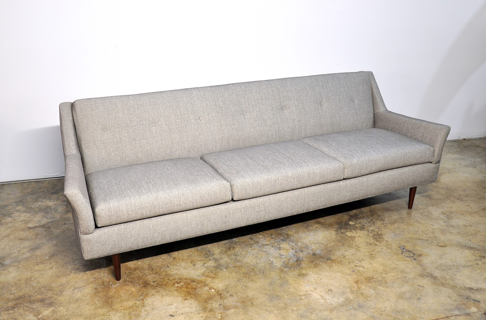 Sofa Mid Century Modern Style Select Modern Mid Century Modern Milo Baughman Style Sofa