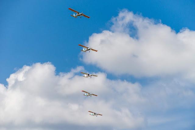 Фоторепортаж с авиашоу в Коротиче 2019 - 25