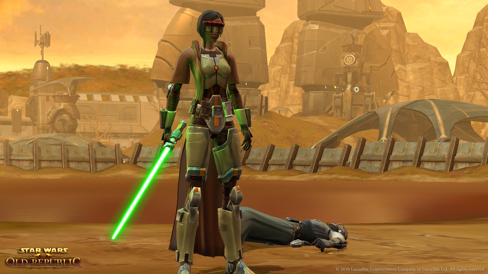 STAR WARS: The Old Republic - Bloom effects on lightsabers