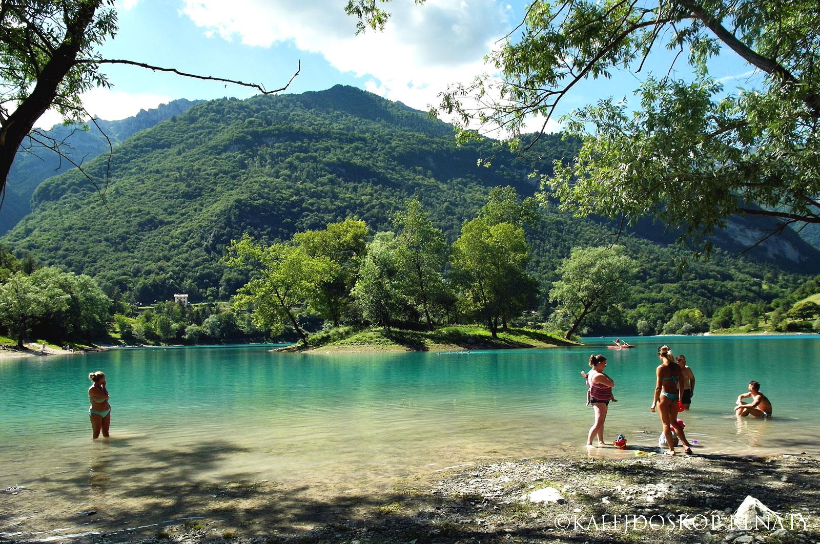trasa na okoła jeziora Tenno