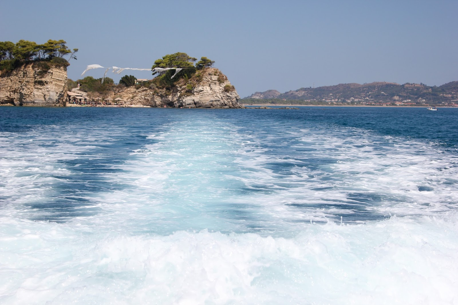 photo from a travel photo diary to tsilivi in zante of the sea in a recap post for 2015