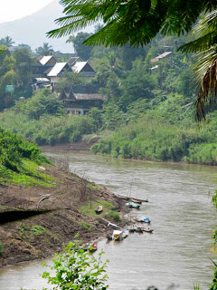 Nam Khan River Luang Prabang Laos