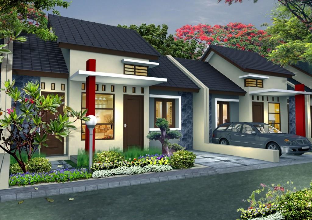 Rumah Minimalis Satu Lantai Eksotis