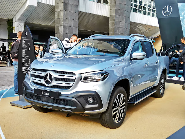 """The """"BMW pickup"""" surrenders to its rival ... """"X-Class""""."""