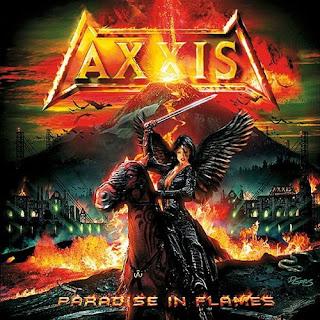 Pochette de Axxis - Paradise in Flames