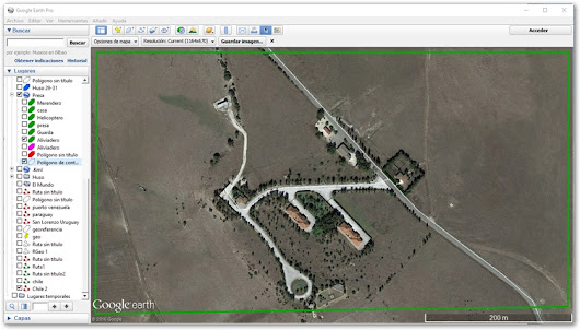 Referenciar una Fotografia de Google Earth con TopoCal