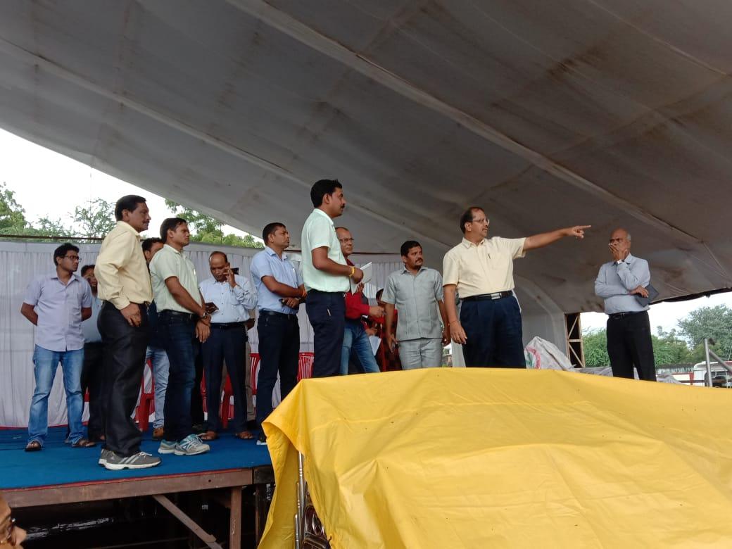 vishva aadiwasi diwas jhabua-विश्व आदिवासी दिवस पर उत्कृष्ट विद्यालय मैदान पर होगा आयोजन