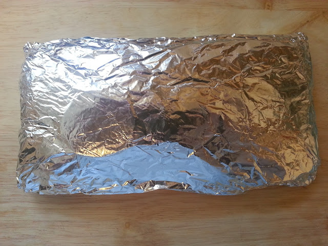 Foil Wrapped Salmon