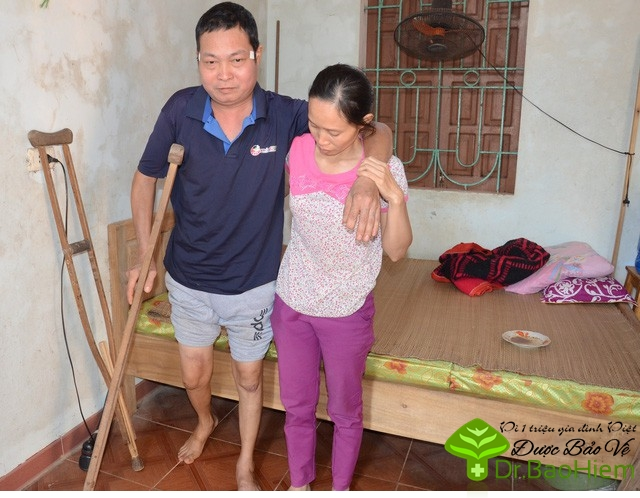Tình cảnh bi đát của người đàn ông nghèo mắc bệnh ung thư phổi