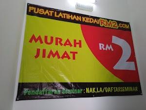 PUSAT LATIHAN KEDAIRM2.COM TELAH DI BUKA
