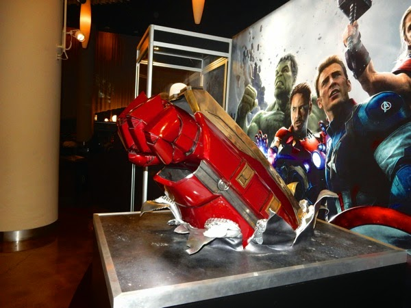 Avengers: Age of Ultron Hulkbuster fist prop