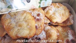 Fritillas dulces al sauvignon