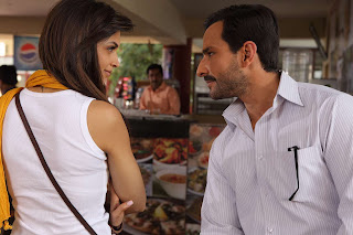 Deepika Padukone and Saif Ali Khan in Aarakshan
