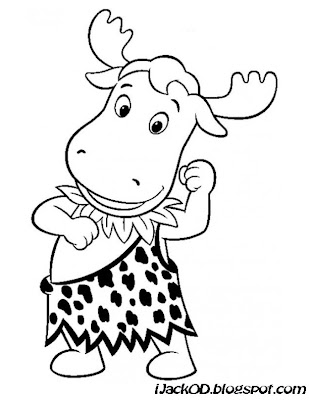 backyardigans coloring pages austin | Backyardigans Colouring Pages