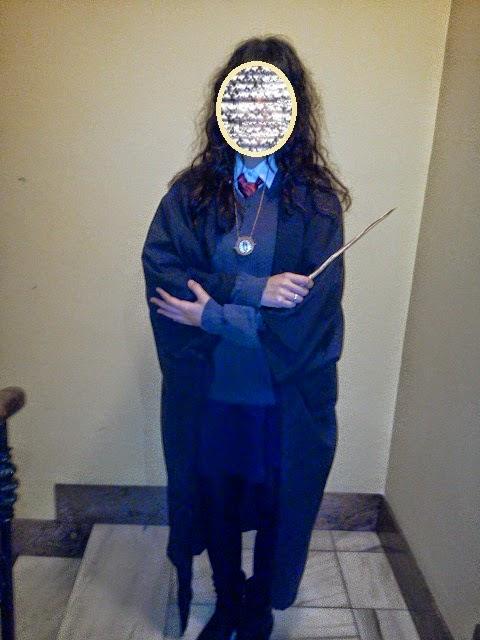 diy disfraz Hermione