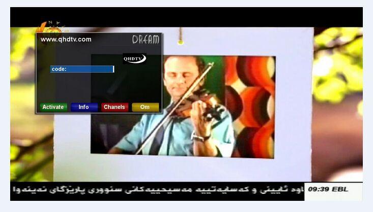 QHDTV: how to install IPTV APK QHDTV on Enigma2