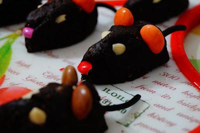 ricetta topolini cioccolato