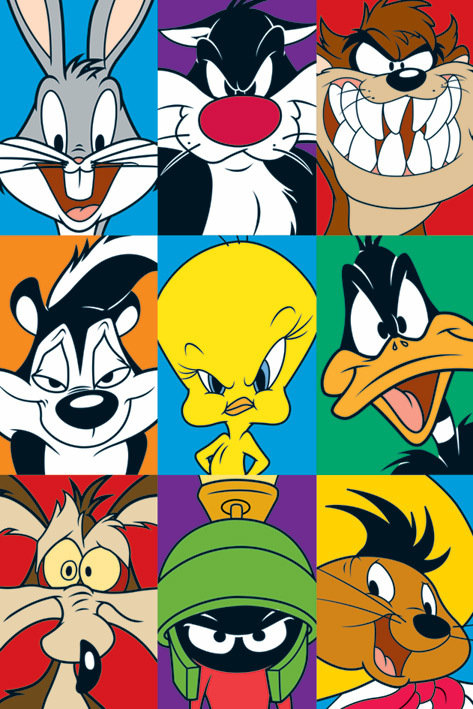 looney tunes characters cartoon quiz way