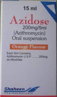 Azidose 15ml syrup