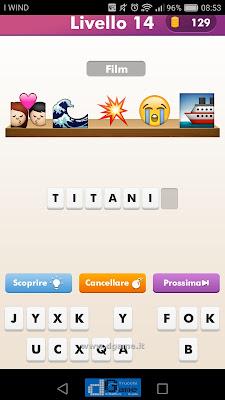 Emoji Quiz soluzione livello 14