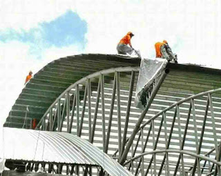 struktur atap lengkung
