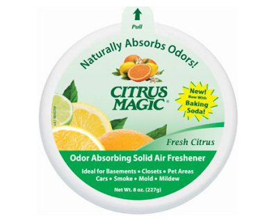 Citrus Magic Solid Air Freshener, Fresh Citrus