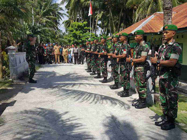 Tiopan Aritonang Kunjungan lanjutan ke Pulau Pulau Terluar di Sulawesi Utara