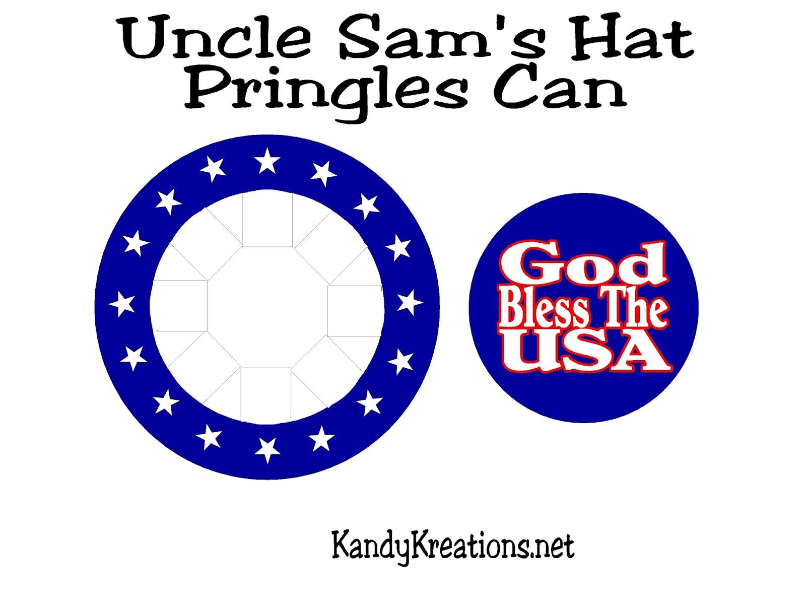 Uncle Sam Patriotic Sparkler Holder